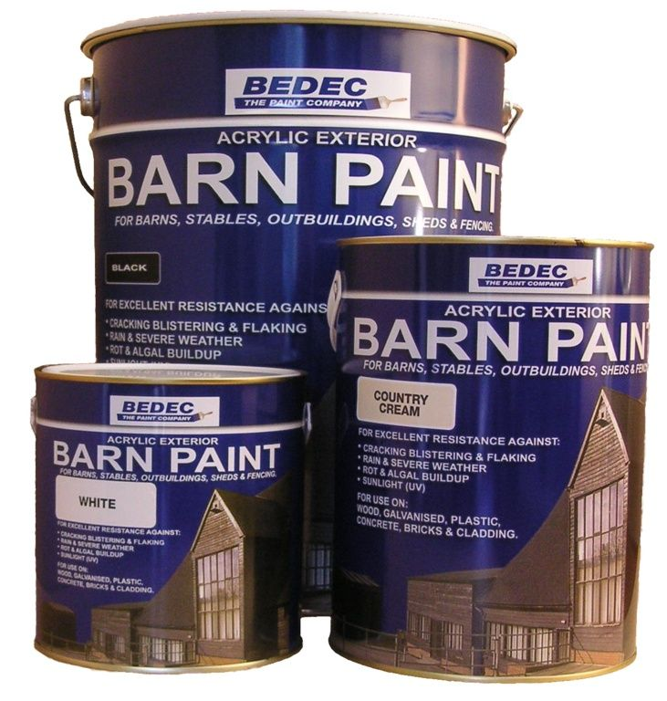Bedec Barn Paint 20L - French Grey